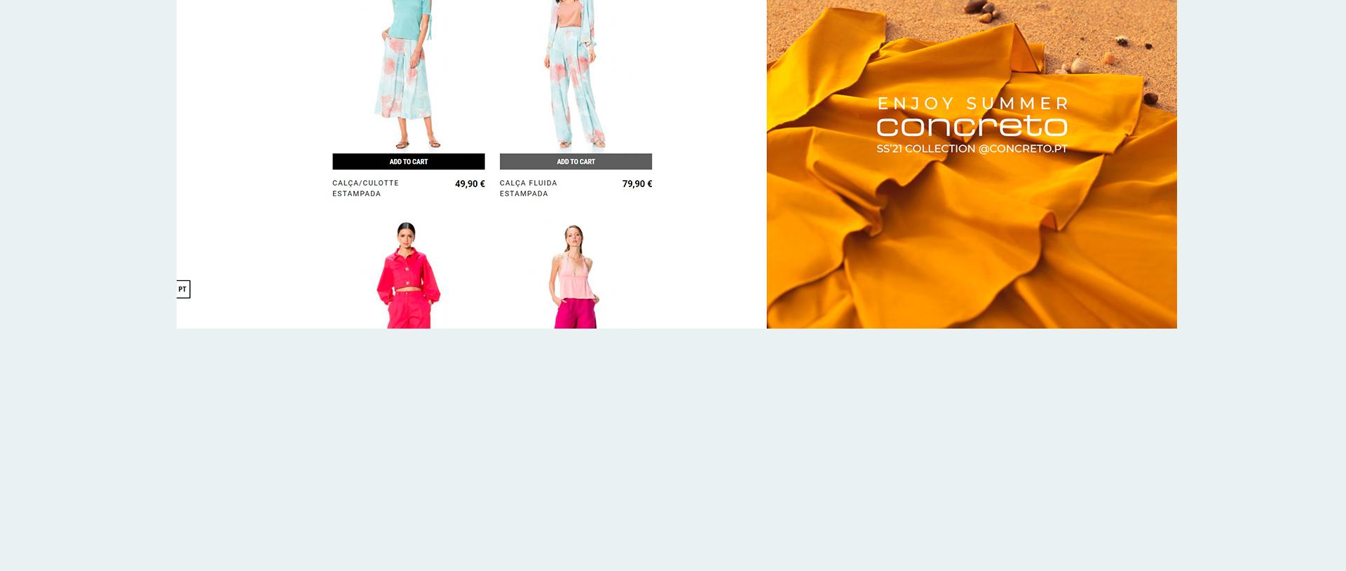 CONRETO website 18
